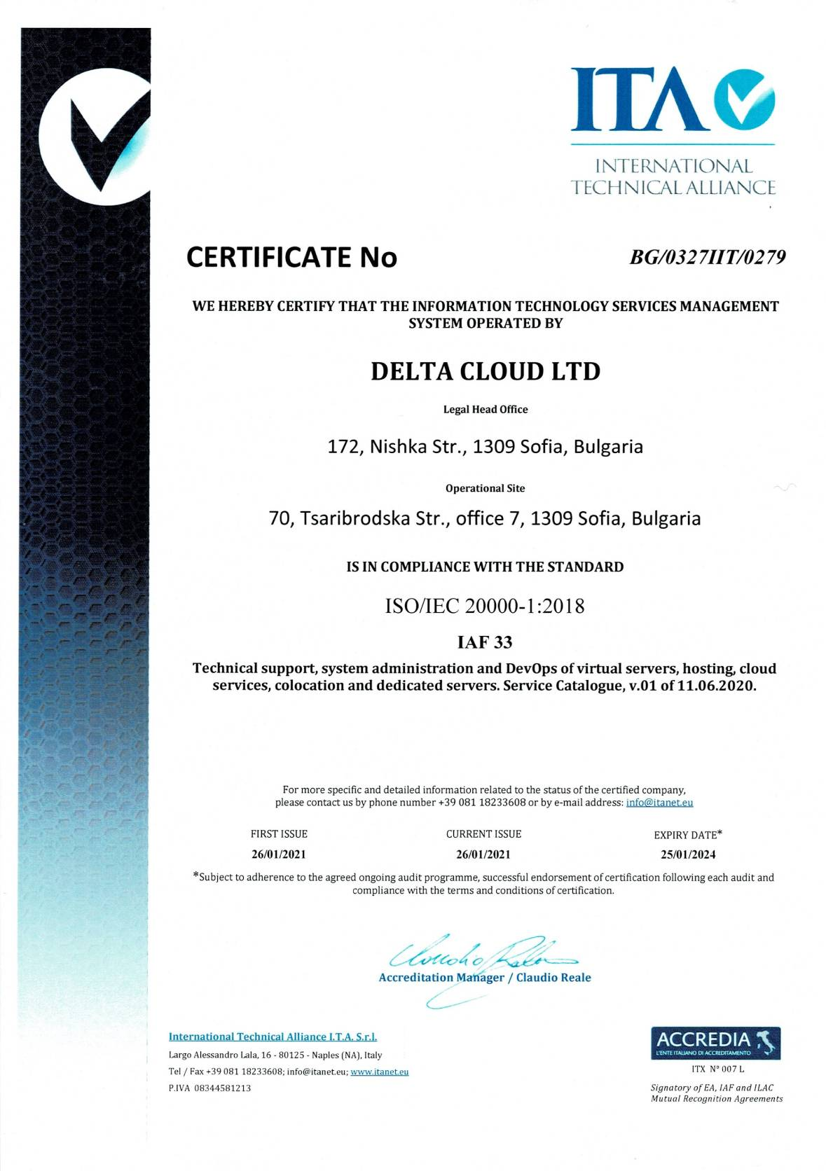 certificate services management